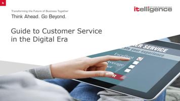 customer service in the digital era