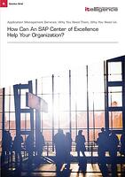 SAP center of excellence
